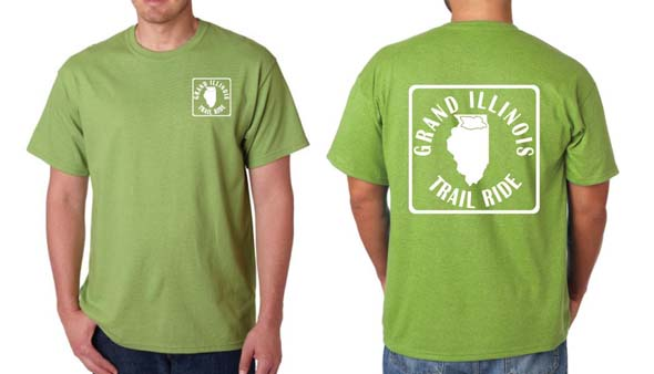 2013 Grand Illinois Trail Ride T-shirt