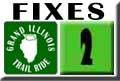 Grand Illinois Trail Ride Bike Repair Lansing - Joliet Map 02