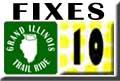 Grand Illinois Trail Ride Bike Repair Sheffield - Dixon Map 10