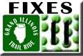 Grand Illinois Trail Ride Bike Repair Dixon - Rockford Map 11