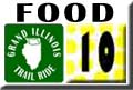 Grand Illinois Trail Ride Food Sheffield - Dixon Map 10