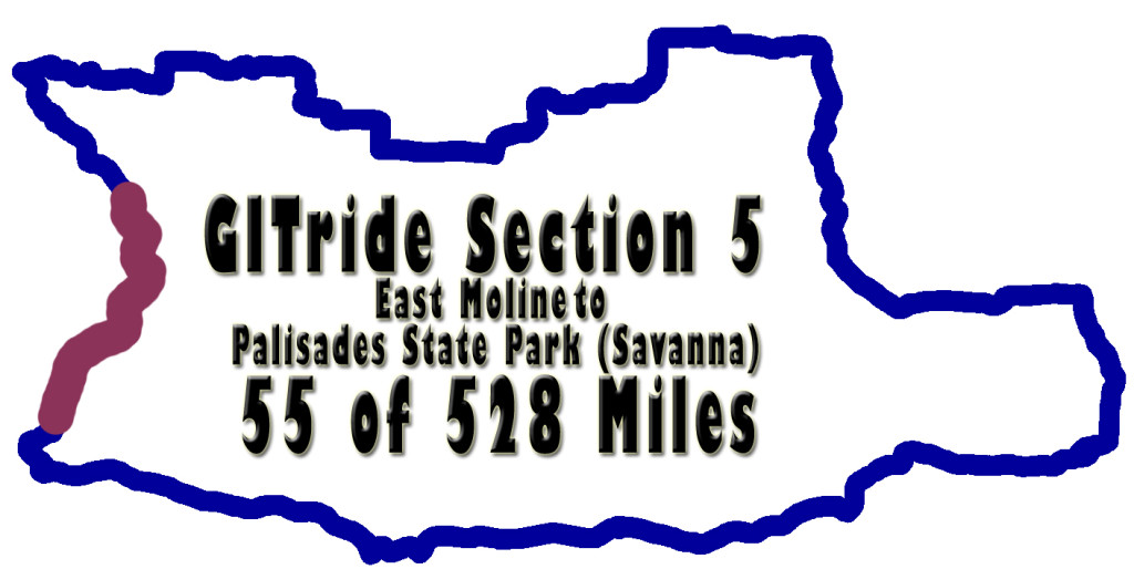 GITride Section five of the Grand Illinois Trail Ride