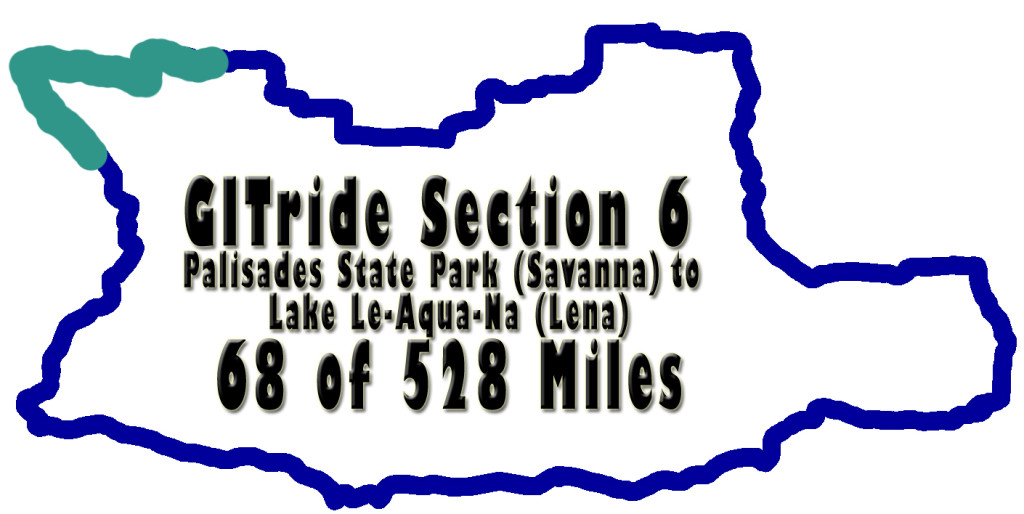 GITride Section six of the Grand Illinois Trail Ride