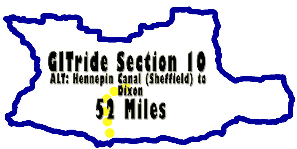 GITride Section Ten (ALTERNATE) of the Grand Illinois Trail Ride